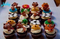 #iceage #cupcakes #sid #squirrel #mammoth #lion #sloth #fondant #decoration