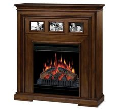 Dimplex - Home Page » Fireplaces » Mantels » Products » Acadian Electric Fireplace