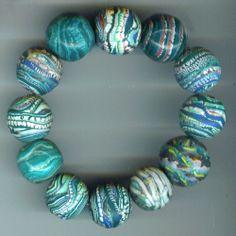 Polymer Clay Extruder Perlen   Flickr - Photo Sharing!
