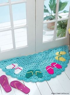 Half moon rugsn 10 stylish crochet designs for a personal touch leisurearts com vintage crochet pattern half moon fan by love this! Crochet Home Decor, Crochet Crafts, Easy Crochet, Crochet Hooks, Crochet Baby, Crochet Projects, Crochet Style, Crochet Rug Patterns, Crochet Designs