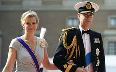 Prince Edward and the Countess of Wessex arrive
