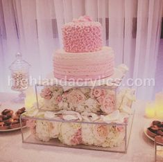 DIY wedding cake stand  This is actually a really good idea  square     Cake Stand Box with Lid