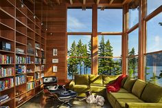 Timber Cove compound. Cle Elum, Washington. Image license: Johnston Architects and Nine Pine Development. © Copyright 2014 Benjamin Benschneider All Rights Reserved. Usage may be arranged by contacting Benjamin Benschneider Photography. Email: bbenschneider@comcast.net or phone: 206-789-5973.