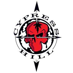 Cypress Hill - Skull & Arrows - Cling On Decal