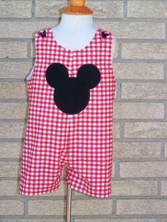 Mickey Mouse Jon Jon. $22.95, via Etsy.