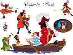 Captain Hook - disney-villains Wallpaper