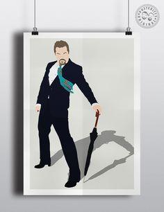 Eddie Izzard Minimalist Poster by Posteritty #EddieIzzard #Posteritty #MinimalPosters