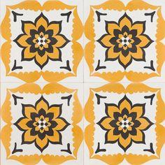 Urban Sun Reproduction Tile
