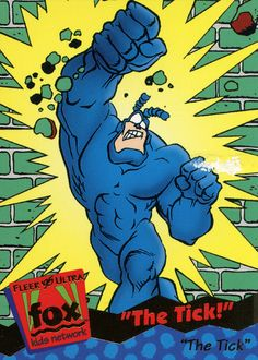 The Tick Earthworm Jim, Comic Art, Comic Books, Samurai Art, Batman Vs Superman, Ticks, A Comics, Pulp Fiction, Newspaper