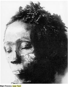 Black mummy Maiherperi was an Ancient Egyptian noble buried in the Valley of the Kings, in tomb KV36. He probably lived during the rule of Thutmose IV, and received the honour of a burial in the Valley of the Kings, the royal necropolis. Notice how he resembles many Cushitic horn of Africa people with the natural high cheekbones, mouth and jaw area, and high forehead!