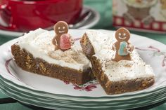 Nobody loves gingerbread as much as Gram does, and nobody bakes it like she does either. Gram's Gingerbread Cookie Bars are a homemade holiday treat that taste like they've got grandma's love baked right in!