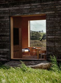Top of the Lake: Tiny Cabins in Dark and Light - Remodelista