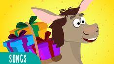 Little Donkey - Juana la Iguana Kids Songs Christmas Concert, Beautiful Songs, Kids Songs, Donkey, Little Ones, First Love, Pikachu, Christmas Crafts, Singing