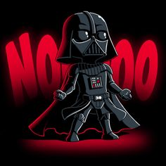 NOOOOO - This official Star Wars t-shirt featuring Darth Vader is only available at TeeTurtle! Star Wars Love, Star Wars Fan Art, Star War 3, Star Wars Cartoon, Darth Vader Cartoon, Darth Vader Shirt, Star Wars Drawings, Star Wars Merchandise, Star Wars Wallpaper