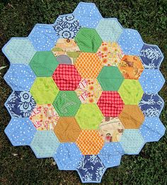 Settlers of Catan Quilt - make with more realistic fabrics for Nathanael w/ Shaped wood pieces.