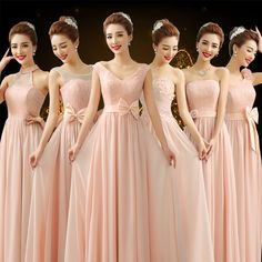 Damas de Honor Quinceanera Dresses, Prom Dresses, Formal Dresses, Wedding Dresses, Abaya Fashion, Fashion Dresses, Braids Maid Dresses, Blush Pink Bridesmaid Dresses, Special Dresses