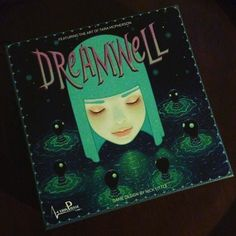 So this arrived today. Tara McPherson has always been one of my favorite artists and her artwork for this game is amazing! #cottoncandymachine #taramcpherson #dreamwell #boardgame