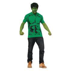 Marvel Men's Hulk T-Shirt Costume
