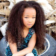 beautiful afro girl