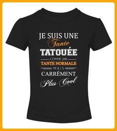 JE SUIS UNE TANTE TATOUEE - Shirts für neffen und nichten (*Partner-Link)
