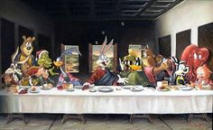 """""""'Th-Th-That's All' Supper"""" by DaVinci, c. 1499"""