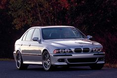 BMW M5 circa 2003, even in 2003 they were bad arss