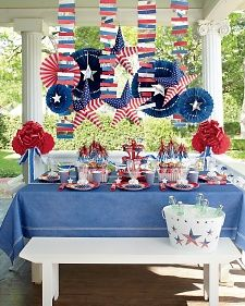 A Patriotic Party - Martha Stewart Entertaining