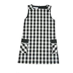 Vestido de cuadros de Christian Dior...consíguelo en AbreTuCloset