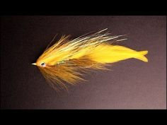 Chad's Articulated White River Deceiver _ Tying Video