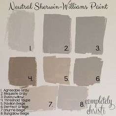 Off white interior paint colors sherwin williams for Cool beige paint colors