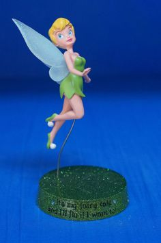 Tinker Bell My Fairytale  I'll Fly If I Want to! Figurine Disney 17753 Peter Pan #WestlandGiftware #Figurine