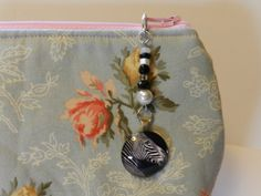 Zebra Cabochon Zipper pull Purse Pull Hoodie by JnJGiftsnCrafts