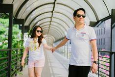 Ramil & Dawn - Singapore Engagement ~ Joemar Cabasan Photography - Gensan Wedding Photographer   Philippine Wedding Photographer   Destination Photographer Dawn, Singapore, Engagement, Mens Tops, T Shirt, Photography, Wedding, Fashion, Supreme T Shirt