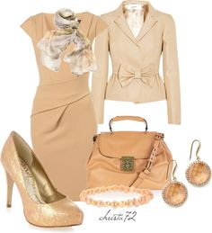 """Passionate Peach"" by christa72 ❤ liked on Polyvore"