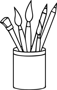 Choose from 13 different types of coloring pages related to the theme pen case. Below you can view pen case themed coloring images including pen desk Coloring Pages For Boys, Free Printable Coloring Pages, Coloring Book Pages, Coloring Sheets, Bunny Painting, Pencil Painting, Painting For Kids, Decoration Creche, Pen Case