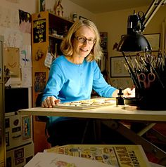 Roz Chast, a great American cartoonist