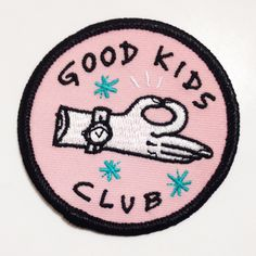 Good Kids Club Patch by kuru731 on Etsy https://www.etsy.com/listing/240578569/good-kids-club-patch