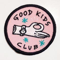 Good Kids Club Patch by kuru731 on Etsy https://www.etsy.com/listing/240578569/good-kids-club-patch