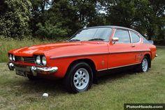 Ford Capri Mk1 3000GXL Facelift-manual A 1972 one owner car !!