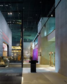Interiors of the Museum of World Culture | Brisac Gonzalez Architects | Archinect