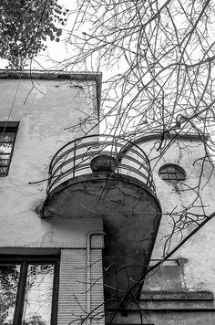 Art Deco Balcony by Oleh Zavadsky. @designerwallace