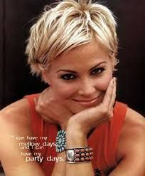 Image result for shaggy pixie cut fine hair More