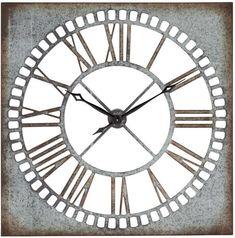 Benzara 55509 Manhattan Exclusive Wall Clock