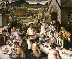 Paul Sample, Church Supper.