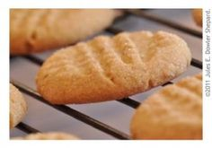 Gluten Free Peanut Butter Cookies: Using Jules Gluten Free Cookie Mix