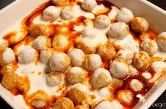 Yogurtlu Bulgur Koftesi Tarifi (Bulgur Balls in Yogurt Sauce)