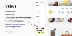 VERUS | Premium Shopify Theme #shopify #themes #fashion #inspire #web #ui #store #layout #technology