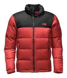 626e6a0b6c The North Face Nuptse Jacket Men s Cardinal Red TNF Black 2X-Large