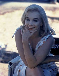 Marilyn Monroe on a really good day
