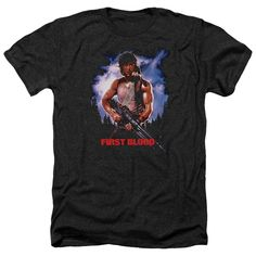 """Checkout our #LicensedGear products FREE SHIPPING + 10% OFF Coupon Code """"Official"""" Rambo:first Blood / Poster-adult Heather - Rambo:first Blood / Poster-adult Heather - Price: $34.99. Buy now at https://officiallylicensedgear.com/rambo-first-blood-poster-adult-heather"""